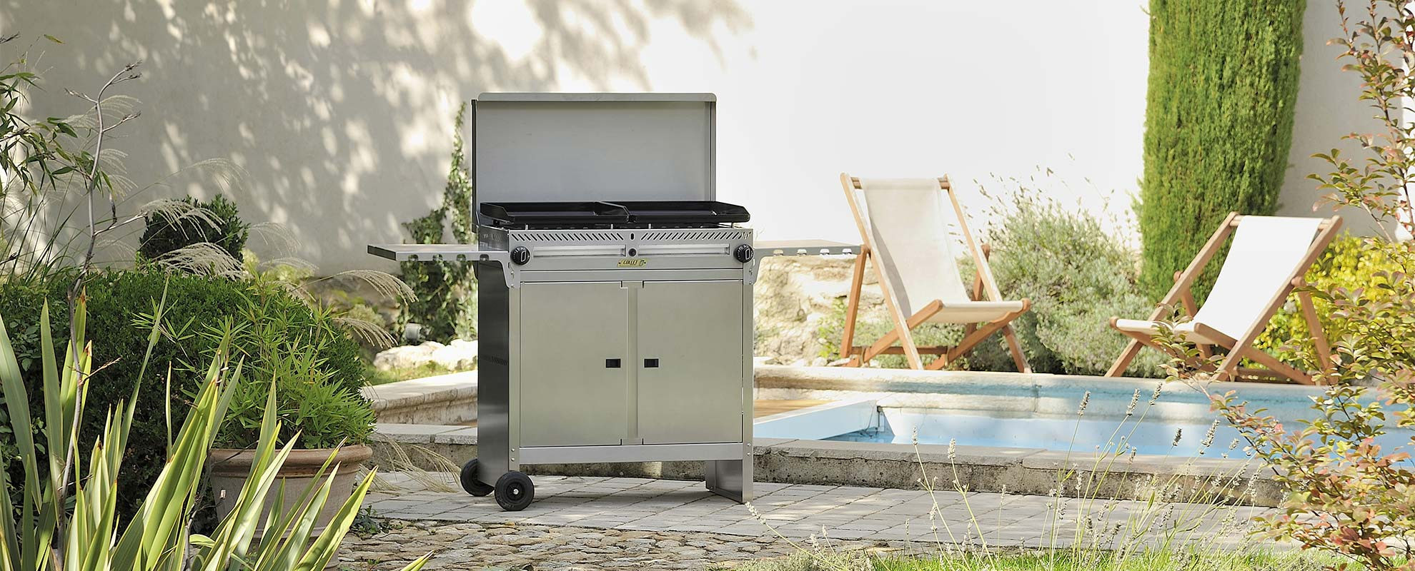 Collet Cuisson, nos barbecues Master